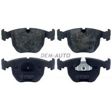 Mintex {bmw 5 (e39) 7 (e38) x5}  Колодки тормозные передние{BMW 5 (E39), 7 (E38), X5} - Dem-Vostok