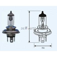 H4 {12v-60-55w / p43t} (1 ) selum Лампа упаковка (1 шт)
