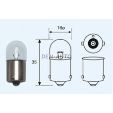 R5w {t16 12v-5w / ba15s} (10 ) blick Лампа упаковка (10 шт)