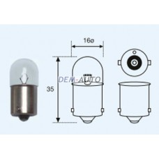 R10w {t16 12v-10w / ba15s} (10 ) blick Лампа упаковка (10 шт)