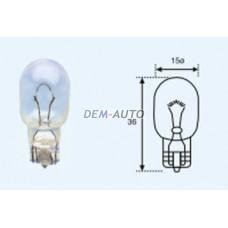 T15 {t15 12v-16w / w2.1x9.5d} (10 ) blick Лампа упаковка (10 шт)