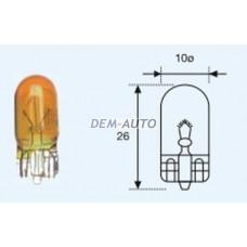 W5w {12v-5w / w2.1x9.5d} (10 ) blick  Лампа упаковка (10 шт)