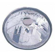 { 172/ - h4}= (depo) Фара левая=правая круглая хрустальная (DEPO){Диаметр 172мм/ЛАМПА - H4} - Dem-Vostok