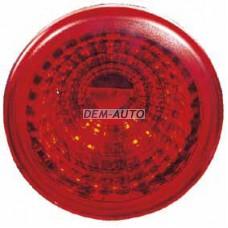 = (depo) Фонарь задний внешний левый=правый круглый красный (DEPO) - Dem-Vostok