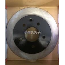 Textar {toyota avensis (t25) 03}  Диск тормозной задний {Toyota Avensis (T25) 03>} - Dem-Vostok